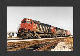 TRAINS - CHARNY - QUÉBEC - TRAIN CANADIEN NATIONAL 305 - 10x15 Cm - Trains