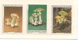 BÉNIN Scott 609-611 Yvert  631-633 (3) ** Cote 9,50$ 1985 - Bénin – Dahomey (1960-...)