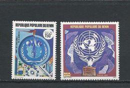 BÉNIN Scott 599, 603 Yvert  618, 622 (2) ** Cote 4,40$ 1985 - Bénin – Dahomey (1960-...)