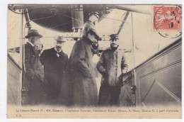 Le Clément-Bayard II - MM. Clément, L'ingénieur Sabatier, Lieutenant Tixier, Zévaco, Du Matin, Zévaco-X, à 300 M. D'alt. - Dirigeables