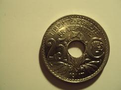 25 CENTIMES LINDAUER 1917 NICKEL Cmes SOULIGNE  SUP + MIS EN VENTE 60 EUR AU LIEU 100 - F. 25 Centesimi
