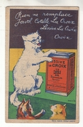 Chromos: Les Animaux Blancs. N° 17 Chat. Lessive La Croix - Chromos