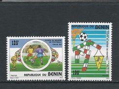 BÉNIN Scott 673-674 Yvert  685-686 (2) ** Cote 3,80$ 1990 - Bénin – Dahomey (1960-...)