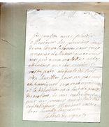 Isabelle De Vignats.1 Page,21 Octobre 1730.A Monsieur Du Motté. - Autographes