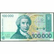 TWN - CROATIA 27a - 100000 100.000 Hrvatskih Dinara 30.5.1993 UNC - Croazia
