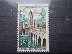 VEND BEAU TIMBRE DE FRANCE N° 1106 , DOME PARTIELLEMENT EFFACE !!! - Errors & Oddities