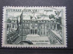 VEND BEAU TIMBRE DE FRANCE N° 1192 , SUR FOND VERT !!! - Errors & Oddities