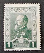 30 ANS DU REGNE DE FERDINAND I ER 1918 - NEUF * - YT 117 - MI 122 - Unused Stamps