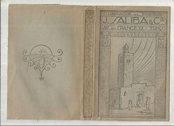 Publicité , Protége Livre , Librairie Du Phenix , J. SALIBA & Cie ,TUNIS , 2 SCANS ,  Frais Fr 1.75 E - Advertising
