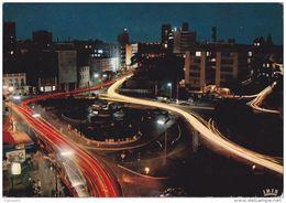 Cp , NIGERIA , LAGOS , Tinubu Square At Night - Nigeria