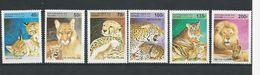BÉNIN Scott 816-821 Yvert  708BA-708BF (6) ** Cote 4,60$ 1995 - Bénin – Dahomey (1960-...)