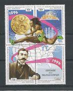 BÉNIN Scott 864a-d Yvert  710AV-710AY (4) ** Cote 4,50$ 1996 - Bénin – Dahomey (1960-...)