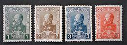 30 ANS DU REGNE DE FERDINAND I ER 1918 - NEUFS * - YT 117/20 - MI 122/25 - Unused Stamps