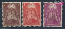 Luxemburg 572-574 (kompl.Ausg.) Mit Falz 1957 Europa (8669994 - Ungebraucht