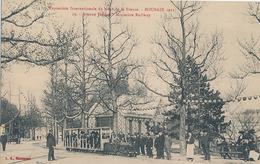 ROUBAIX - EXPOSITION INTERNATIONALE DU NORD DE LA FRANCE - ROUBAIX 1911 - N°19 - AVENUE JUSSIEU - MINIATURE RAILWAY - Roubaix