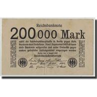 Allemagne, 200,000 Mark, 1923, KM:100, 1923-08-09, TB+ - Otros