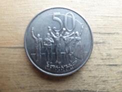 Ethiopie  50  Cents  2008  Km 47 - Ethiopie