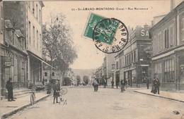 SAINT - AMAND - MONTROND  Rue Nationale - Saint-Amand-Montrond