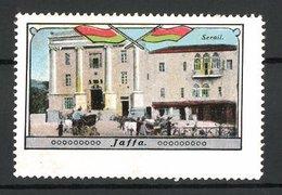 Vignette Publicitaire Jaffa, Serail, Flagge - Erinnophilie