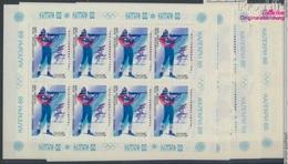 Sowjetunion 5788Klb-5792Klb Kleinbogen (kompl.Ausg.) Postfrisch 1988 Olymp. Winterspiele '88, Calgary (8721522 - 1923-1991 USSR