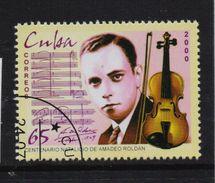Cuba 2000, Music, Minr 4284, Vfu. Cv 2 Euro - Cuba