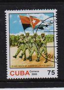 Cuba 2000, Army, Flags, Minr 4321, Vfu. Cv 2,50 Euro - Cuba