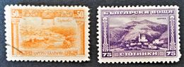 SERIE COURANTE 1921/23 - NEUF * + OBLITERE - Unused Stamps