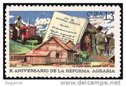 Cuba 1274 ** Reforma Agraria. 1969 - Cuba