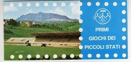San Marino 1985 Libretto Carnet Giochi Dei Piccoli Stati - Francobolli