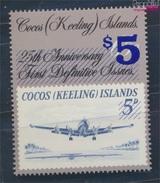 Kokos-Inseln 236 (kompl.Ausg.) Postfrisch 1990 Flugzeug (8777122 - Kokosinseln (Keeling Islands)