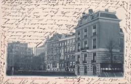 366467Amsterdam, Leidscheplein – Leidschekade (poststempel 1901) - Amsterdam