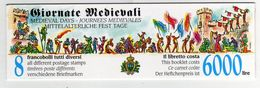 San Marino 1996 Libretto Carnet Giornate Medievali Mittelalterliche Fest Tage Medievals Days - Francobolli