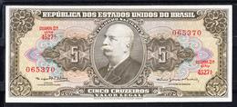 BRASIL 1962.   CINCO CRUZEIROS     NUEVO SIN CIRCULAR   B1113 - Brasil
