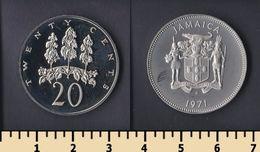 Jamaica 20 Cents 1971 - Jamaica