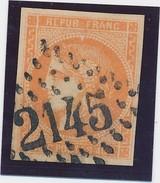 Bordeaux N°48 40 C Orange Signé Calves TB. - 1870 Emission De Bordeaux