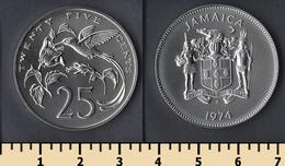 Jamaica 25 Cents 1974 - Jamaica