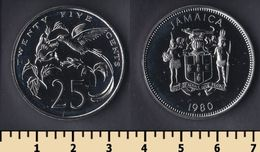 Jamaica 25 Cents 1980 - Jamaica