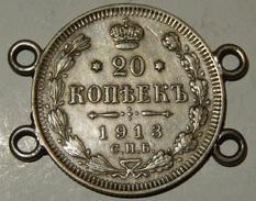 Russia - 20 Kopek - 1913 - (17) - Russia