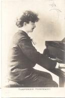 *** VS  ****  KXK  Artiste Paderwski Pianiste - TTB  Timbrée - Chanteurs & Musiciens