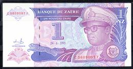 ZAIRE 1993   UN NUEVO ZAÏRE   DICTADOR MOBUTU  NUEVO SIN  CIRCULAR PÌCK Nº 52    B1115 - Zaire