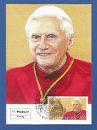 Österreich 2007  Mi.Nr. 2650 , Papst Benedikt XVI - Maximum Karte - Briefmarken Werbeschau Wien 12.4.2007 - Päpste