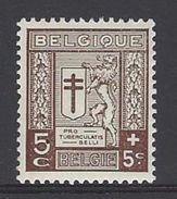 """België Nr.240 Met Gebroken """"5"""" - Abarten Und Kuriositäten"""
