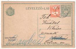 HONGRIE - Entier Postal - Postal Stationery - 1913 - Postwaardestukken