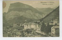 ITALIE - Panorama Di ROSSINO (Dintorni Di LECCO ) - Lecco