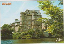 Aveyron : ESPALION : Vue  Cha^teau - Espalion