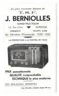 DEPLIANT CONSTRUCTEUR DE T.S.F.. NOUVEAUTES DE 1939/40..VOIR LES MODELES EN PHOTO... BE.. SCANS - Instrumentos De Música