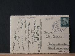 71/298  CP  ALLEMAGNE   1937 OBL. BAHNPOST - Deutschland