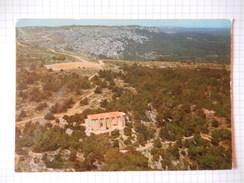 CPSM (11) - RARE - GRUISSAN  - VUE AERIENNE SUR LA CHAPELLE NOTRE DAME DES AUZILS - PHOTO VERITABLE -  R9150 - France