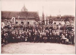 Photo Harmonie Verbroedering  Ternat Ternath En Jette St Pierre  Achter  Sint Gertrudis Kerk (23,3 Cm/17cm) - Places