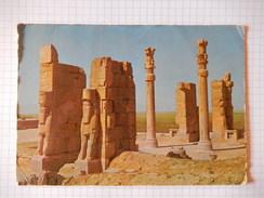 CPSM -1966 - PERSEPOLIS - SHIRAZ - IRAN - PHOTO VERITABLE - FORMAT GRAND -  R9152 - Iran